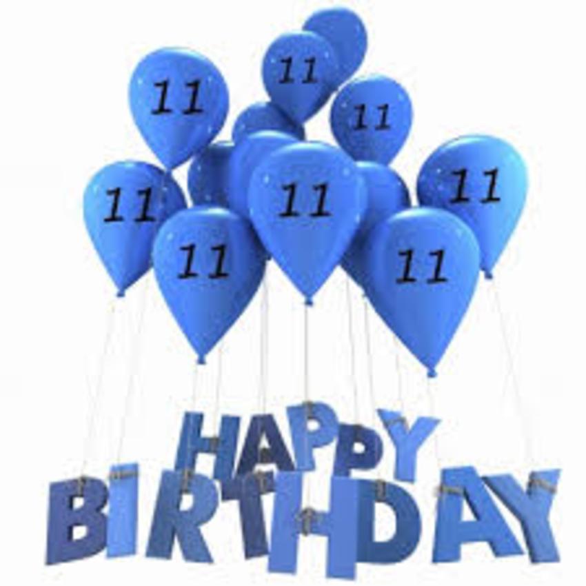 gefeliciteerd 11 jaar Hartelijk Gefeliciteerd 11 Jaar   ARCHIDEV gefeliciteerd 11 jaar