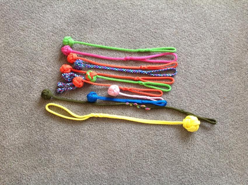 armbandje knopen touw